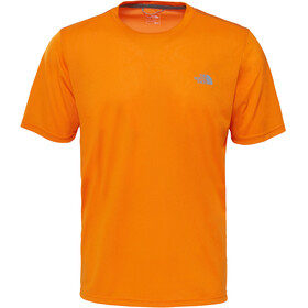 The North Face M's Reaxion Amp Crew Shirt Exuberance Orange Heather